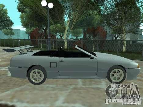 Elegy Кабрио для GTA San Andreas вид слева
