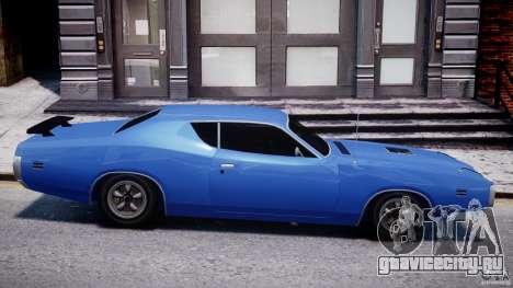 Dodge Charger RT 1971 v1.0 для GTA 4 вид слева
