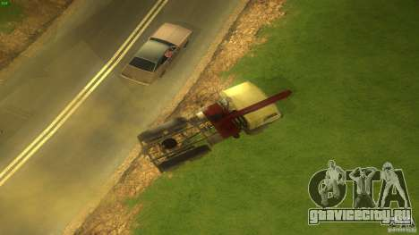 Kamaz для GTA San Andreas вид справа