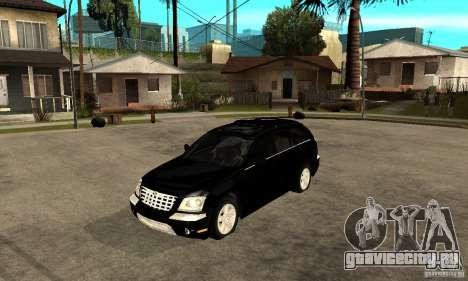 Chrysler Pacifica для GTA San Andreas