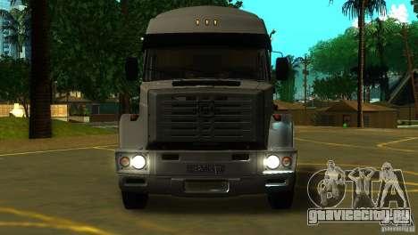 Зил 5417 SuperZil для GTA San Andreas вид слева