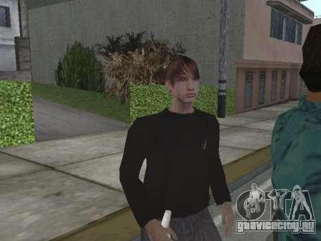 Новые скины Grove Street для GTA San Andreas третий скриншот