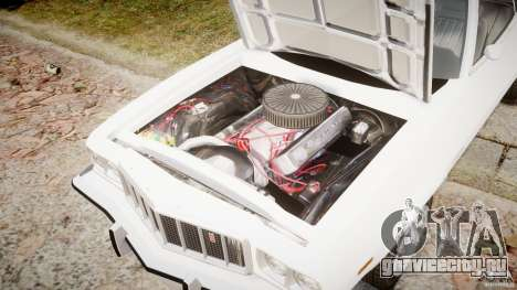Ford Gran Torino 1975 v1.1 для GTA 4 вид изнутри