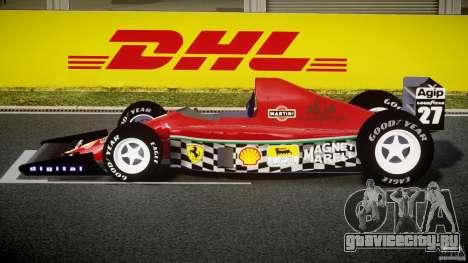 Ferrari Formula 1 для GTA 4 вид слева