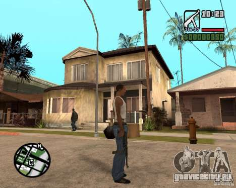 MP 40 для GTA San Andreas третий скриншот