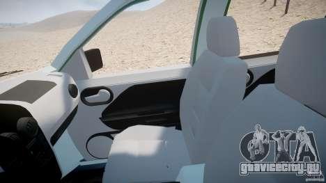 Ford EcoSport для GTA 4 вид сзади