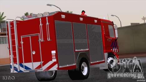 Mercedes-Benz Actros Fire Truck для GTA San Andreas вид справа