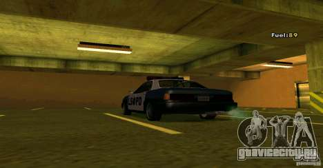 Merit Police Version 2 для GTA San Andreas вид справа