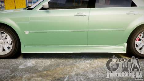 Chrysler 300C SRT8 Tuning для GTA 4 салон