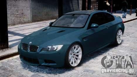 BMW M3 E92 stock для GTA 4 вид слева