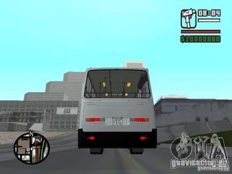 Ikarus 260.06 для GTA San Andreas вид сзади слева