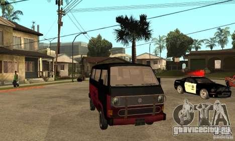 Volkswagen T3 Rusty для GTA San Andreas