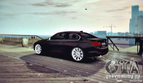 BMW 335i Coupe для GTA 4 вид справа