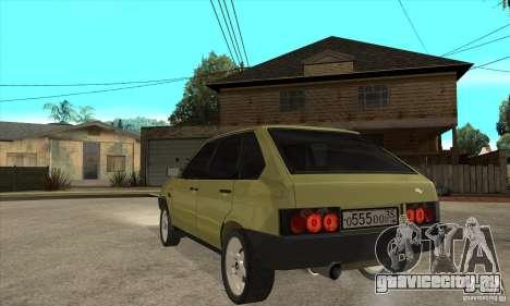 ВАЗ 21093 для GTA San Andreas вид сзади слева