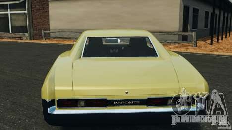 New Dukes для GTA 4 вид снизу