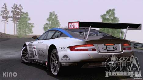 Aston Martin Racing DBRS9 GT3 для GTA San Andreas вид слева