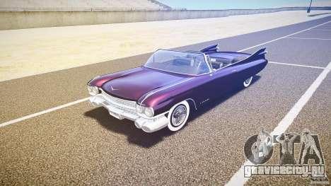Cadillac Eldorado 1959 interior black для GTA 4 вид слева
