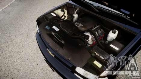 Chevrolet Suburban Z-71 2003 для GTA 4 вид изнутри