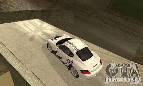 Porsche Cayman S для GTA San Andreas двигатель