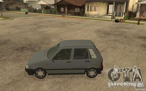 Fiat Uno 70s для GTA San Andreas вид слева