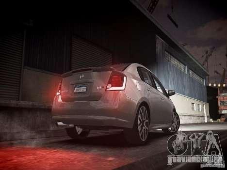 Nissan Sentra SE-R Spec V для GTA 4 вид сзади слева