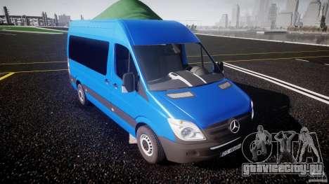 Mercedes-Benz ASM Sprinter Ambulance для GTA 4 вид изнутри