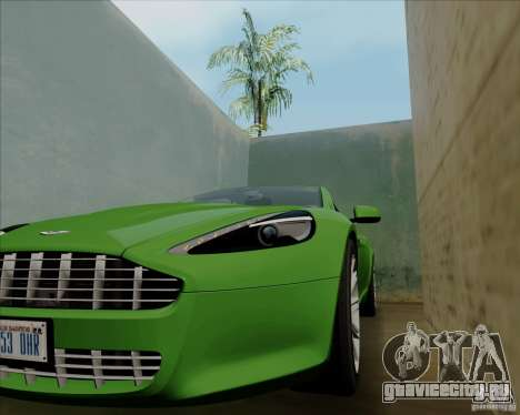 Aston Martin Rapide 2010 V1.0 для GTA San Andreas вид снизу