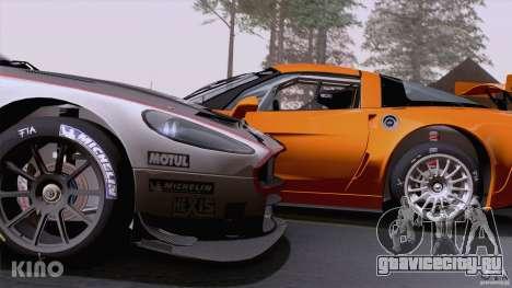Aston Martin Racing DBRS9 GT3 для GTA San Andreas салон