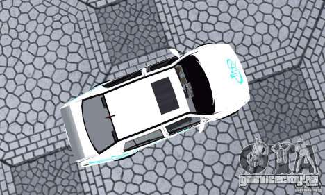Volkswagen Jetta FnF для GTA San Andreas вид справа