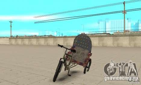 Manual Rickshaw v2 Skin5 для GTA San Andreas
