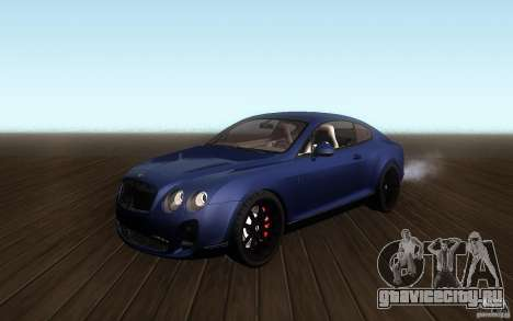 Bentley Continental SS для GTA San Andreas