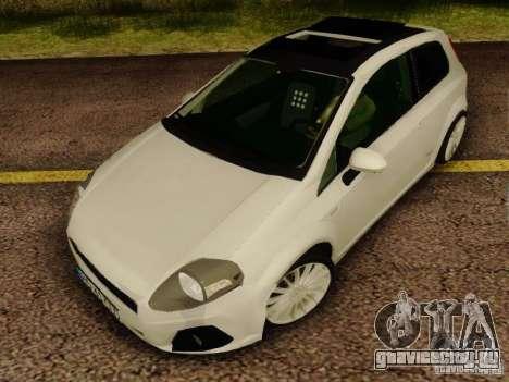 Fiat Grande Punto CLD Style для GTA San Andreas
