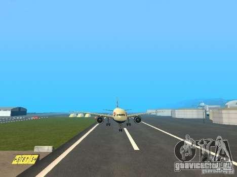 Boeing 777-200 British Airways для GTA San Andreas вид сзади