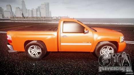 Chevrolet Silverado 2011 для GTA 4 вид сбоку