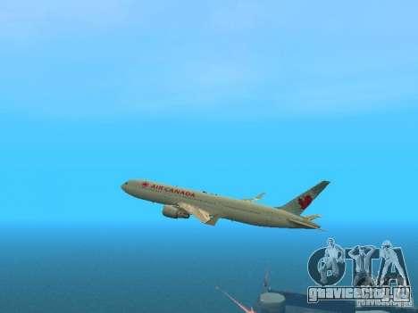 Boeing 767-300 Air Canada для GTA San Andreas вид сбоку