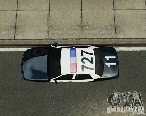 Ford Crown Victoria LAPD для GTA 4 вид сзади