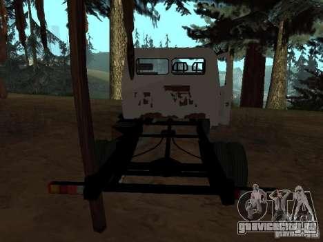 Кузов ГАЗели для GTA San Andreas четвёртый скриншот