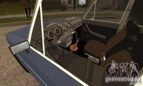 ВАЗ 2106 Old v2.0 для GTA San Andreas вид сзади слева