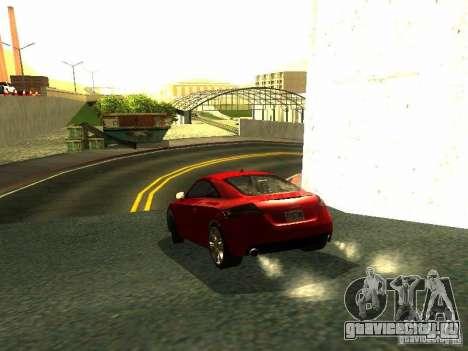 Audi TT 2009 v2.0 для GTA San Andreas вид справа