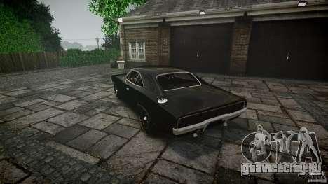 Dodge Charger RT 1969 для GTA 4 вид снизу