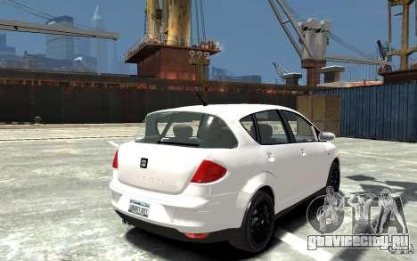 Seat Toledo для GTA 4 вид справа