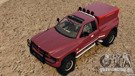 Dodge Ram 2500 Army 1994 v1.1 для GTA 4 вид сверху