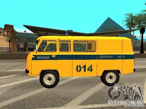 УАЗ 2206 Милиция для GTA San Andreas вид слева