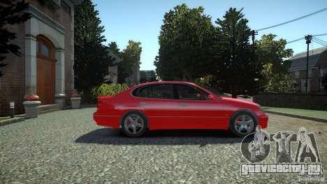 Toyota Aristo для GTA 4 вид справа