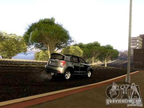Scion xD для GTA San Andreas вид снизу