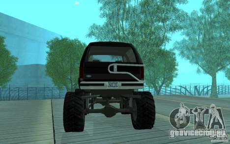 Ford Bronco Monster Truck 1985 для GTA San Andreas вид справа