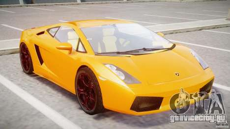 Lamborghini Gallardo Superleggera для GTA 4 вид слева