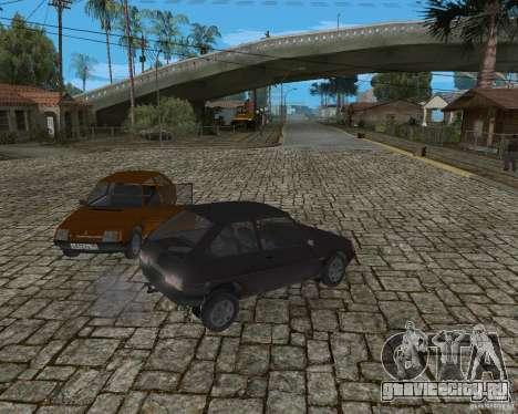 ЗАЗ 1102 Таврия для GTA San Andreas вид сзади