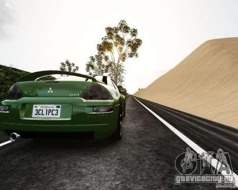 Mitsubishi Eclipse GT-S для GTA 4 вид справа