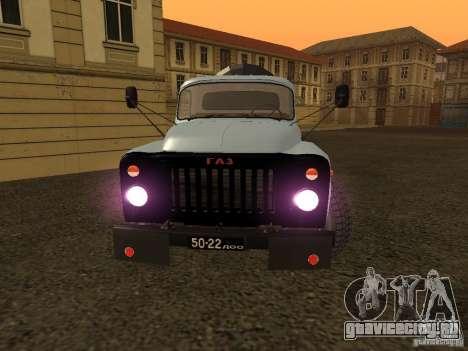 ГАЗ 53 Ассенизатор для GTA San Andreas вид справа